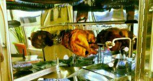 فرگازی خانگی تک سینی دارای جوجه گردان خوشپخت